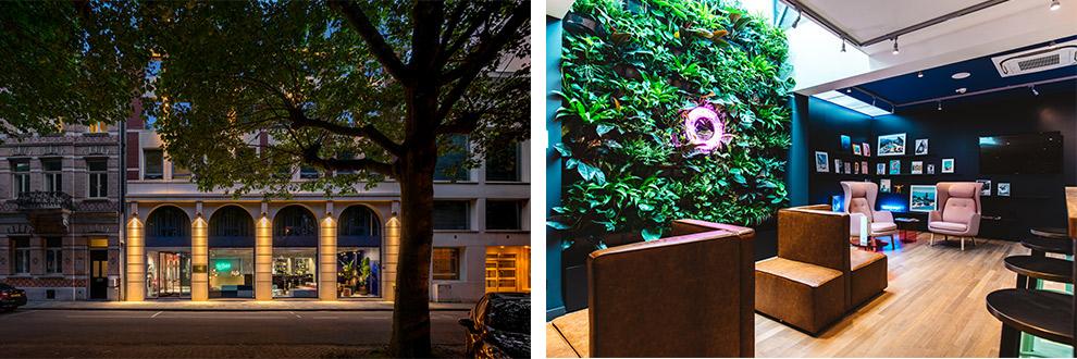Hotel TheDutch van binnen en buiten vastgelegd op beeld