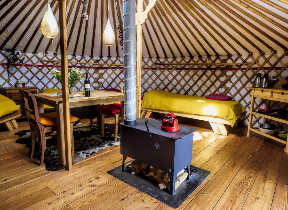 Interieur Texelse Yurt