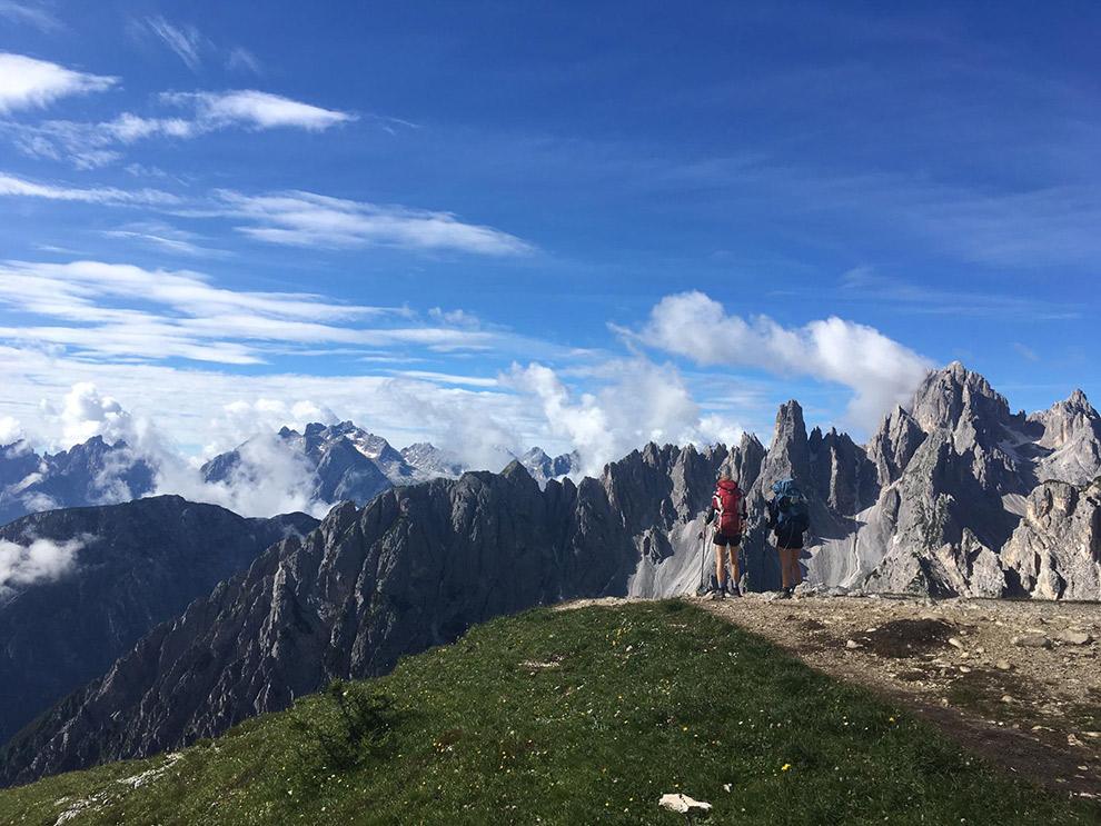 Indrukwekkend uitzicht op de Dolomieten