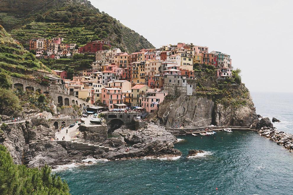 De kleurrijke huisjes van Cinque Terre
