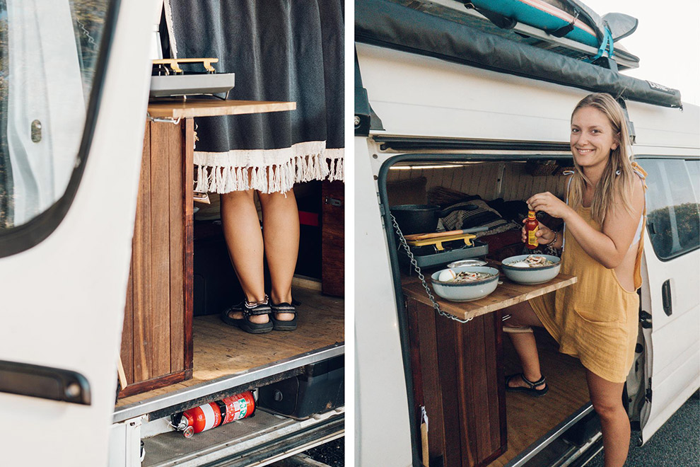 Leven in een camper in de stad