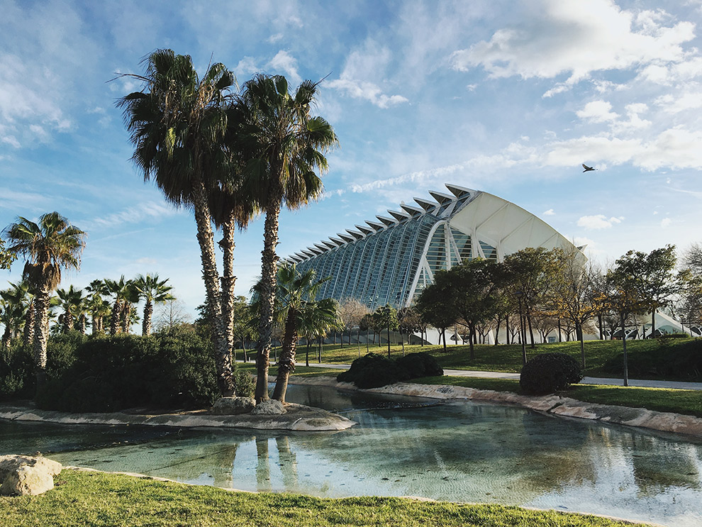 De place-to-be in Valencia: het Turia park