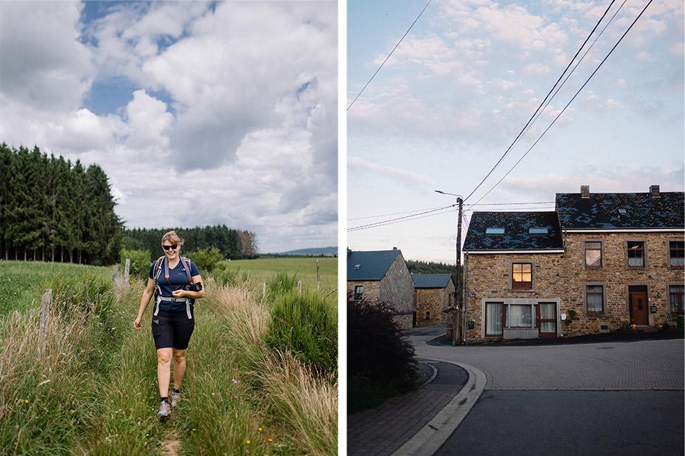 Paulien wandelt door weilanden en dorpjes