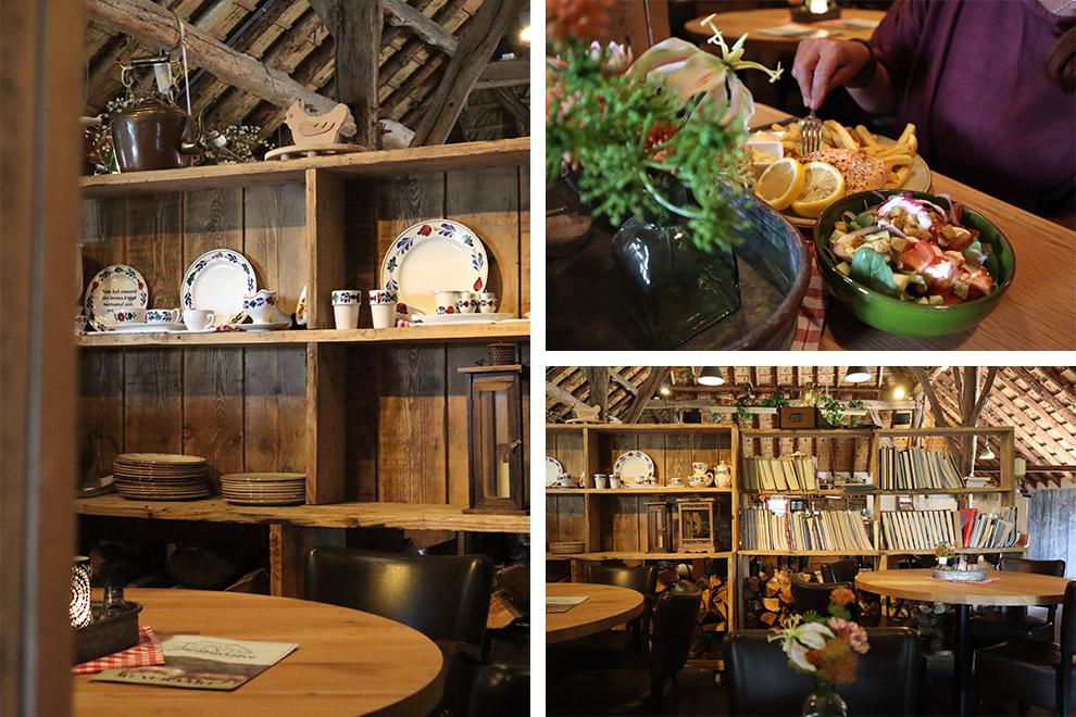 Schatig boeren interieur en lekker eten bij De Jacobushoeve in Brabant