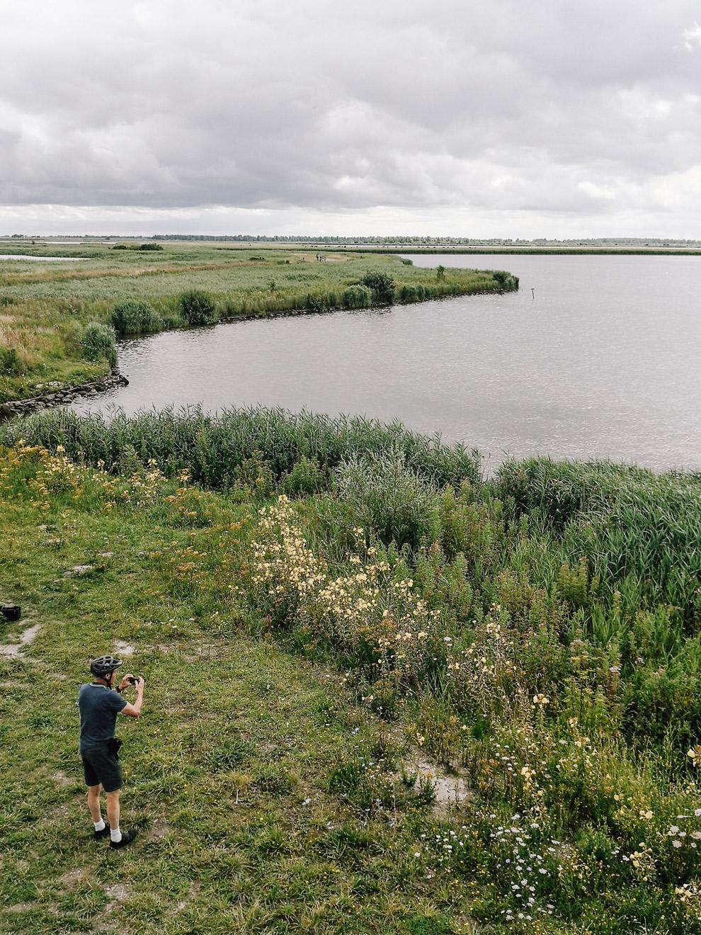 Foto maken van het natuurschoon in het Lauwersmeergebied