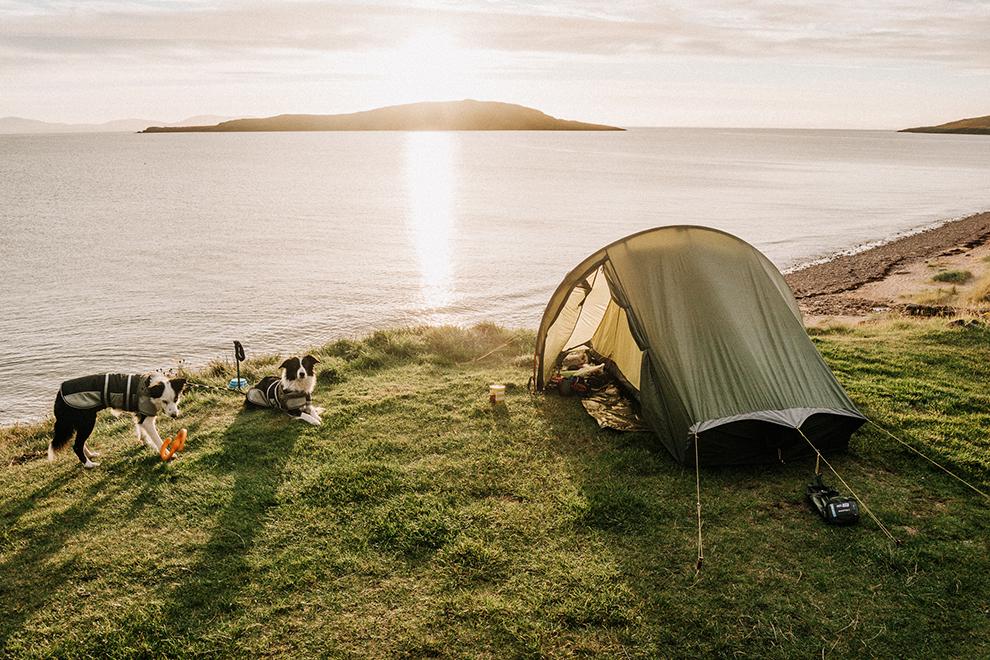 Camperen langs de Schotse North Coast