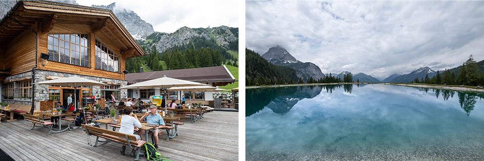 Relaxen in een berghut omringd door helderblauwe meren