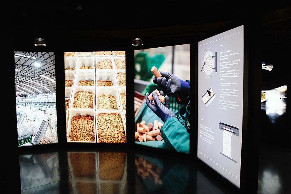 Informatieve tentoonstelling Planet Cork in Porto