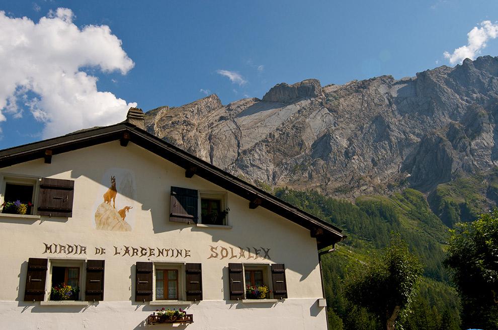 Restaurant Miroir d'Argentine in Zwitserland
