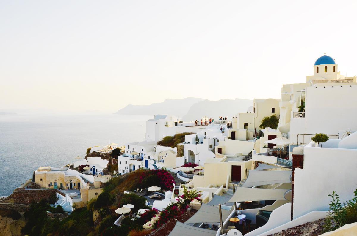 6x Weg van de drukte op Santorini