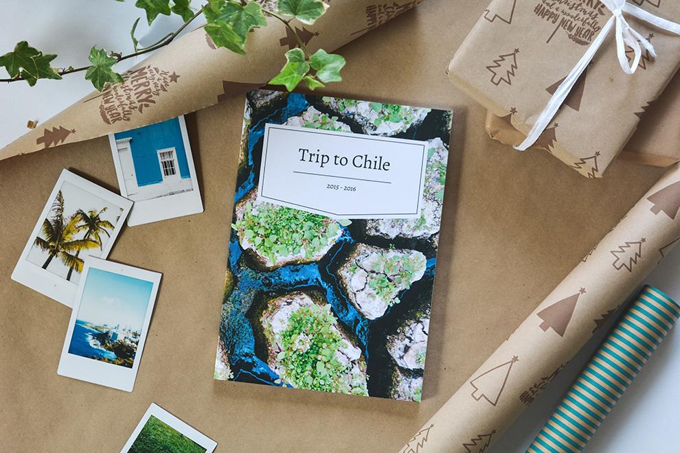 Reisdagboek Travel Diaries inpakken als cadeau
