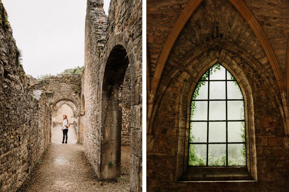 Wandelen door de abdij van Orval