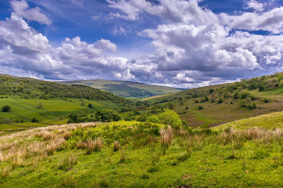 Sprookjesachtige heuvellandschap van Yorkshire Dales