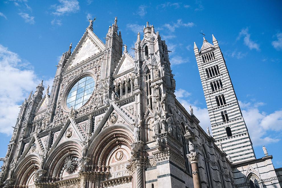 Imposante Kathedraal van Siena: de Duomo