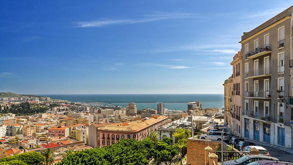 Verdwaal in een wirwar van straatjes in Cagliari