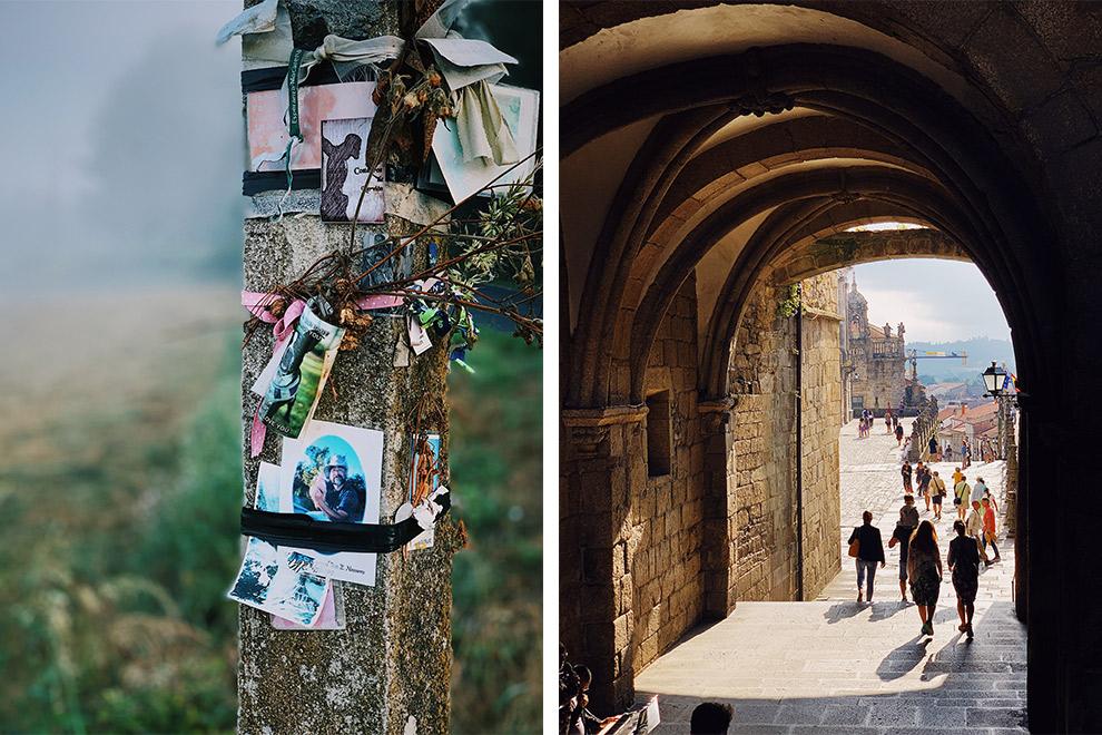 Kathedralen en religieuze uitingen bij het bedevaartsoord van Sint Jacobus in Spanje