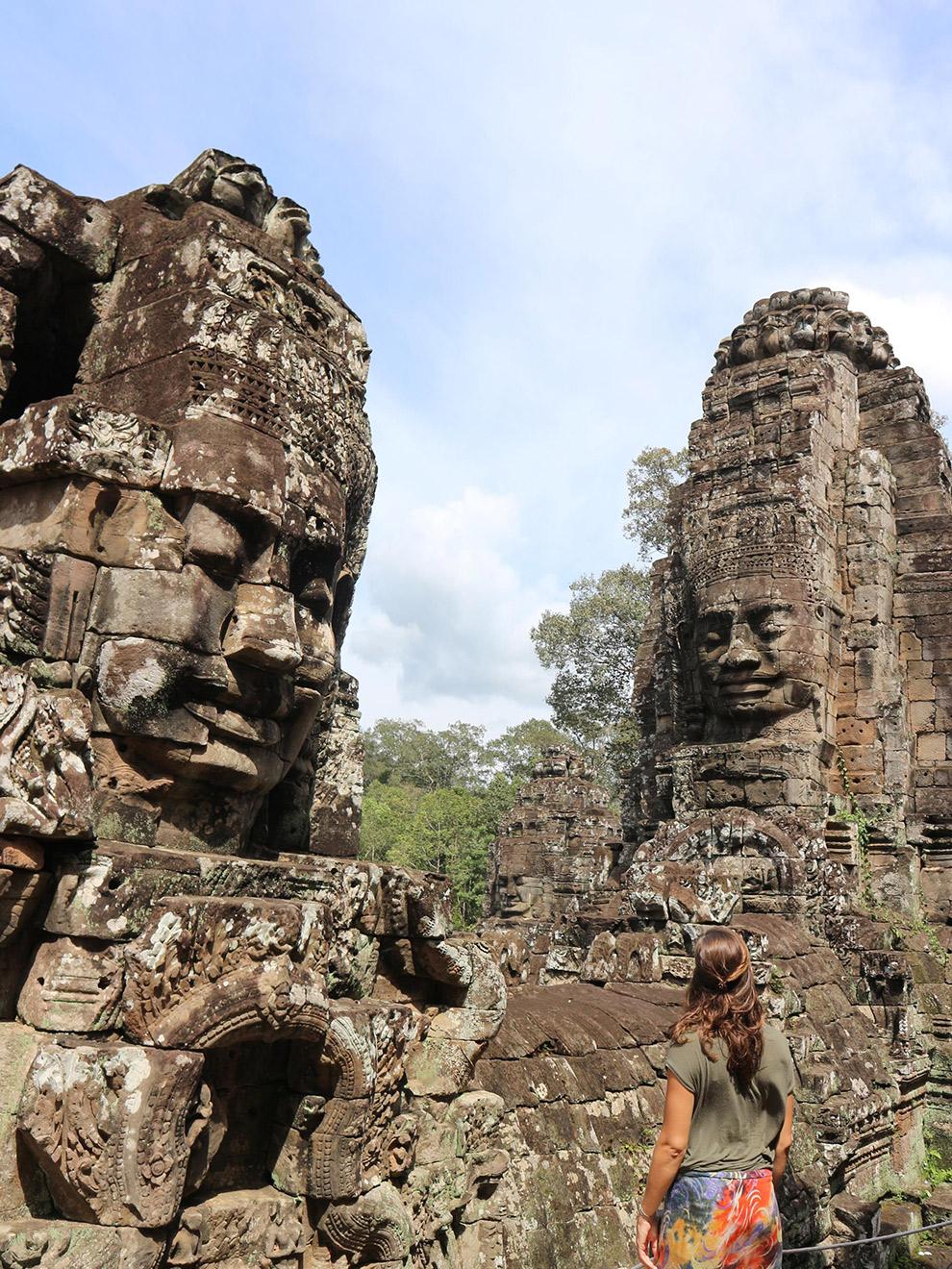 De vele gezichten van de Tempels in Angkor Wat, Cambodja