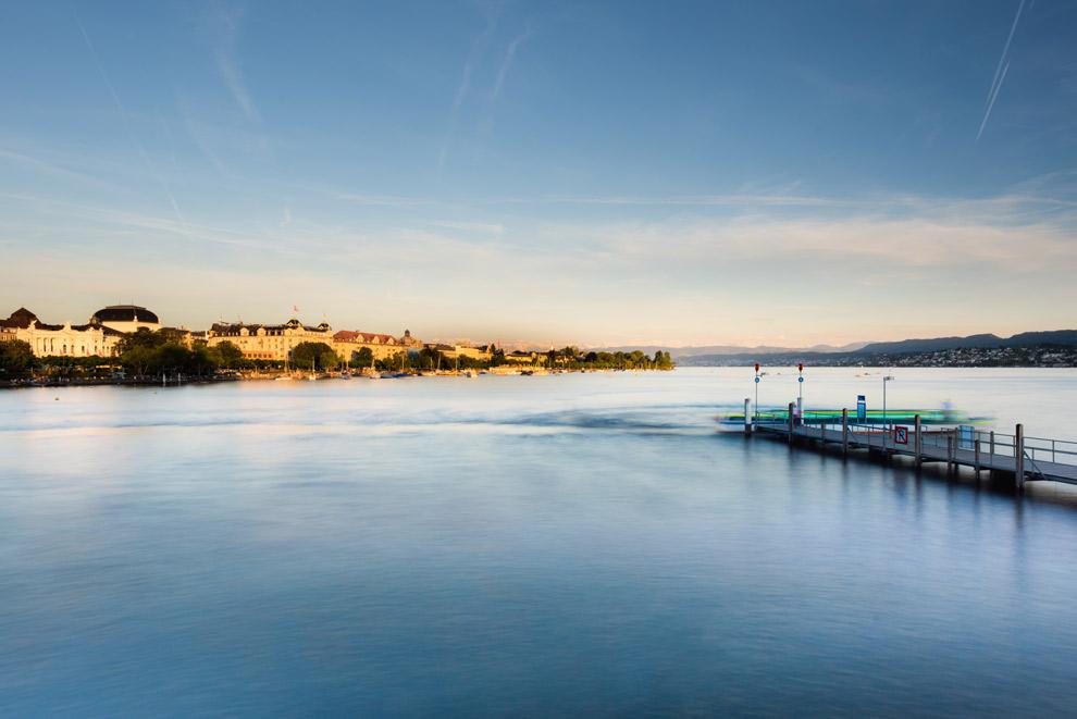 Het meer van Zurich