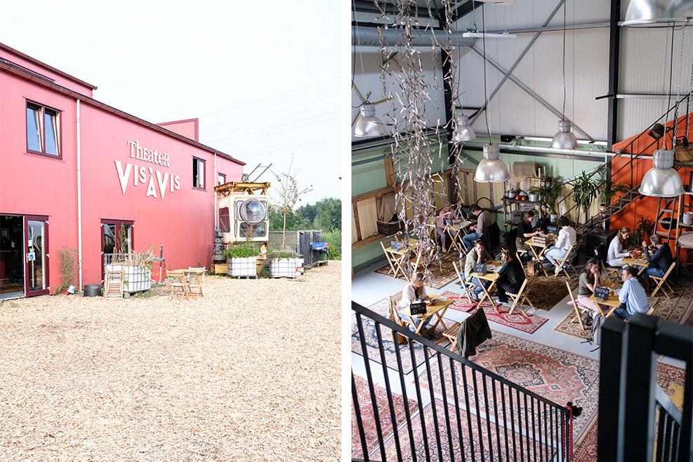 Opgeknapt industrieterrein in Almere huisvest creatief stadstheater