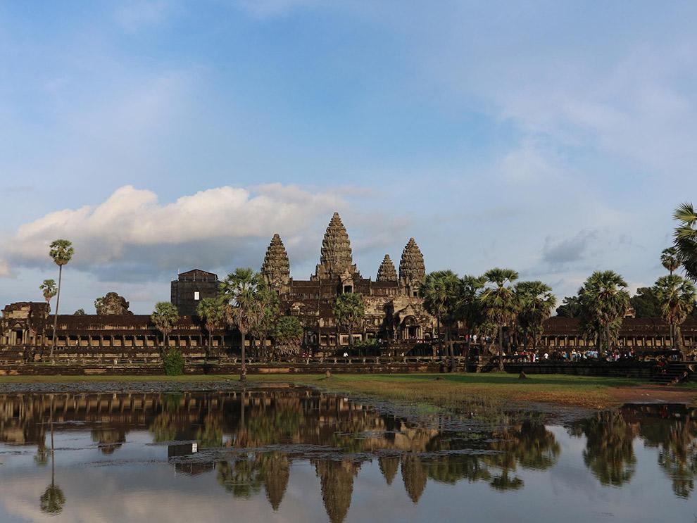 Hoofdtempel Angkor Wat in Cambodja