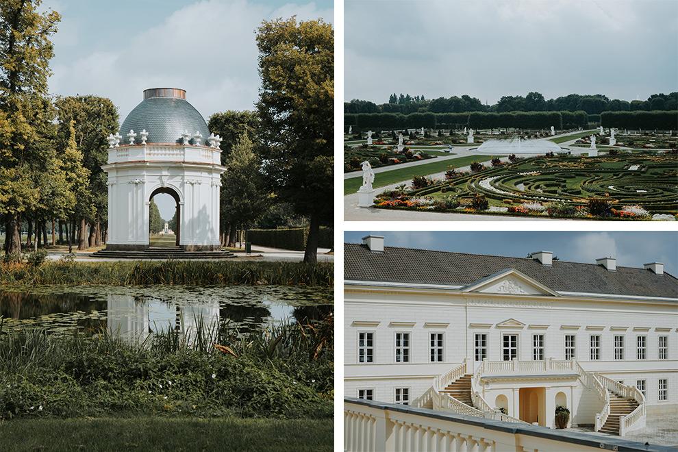 Baroktuin in Hannover, Duitsland vol pracht en praal