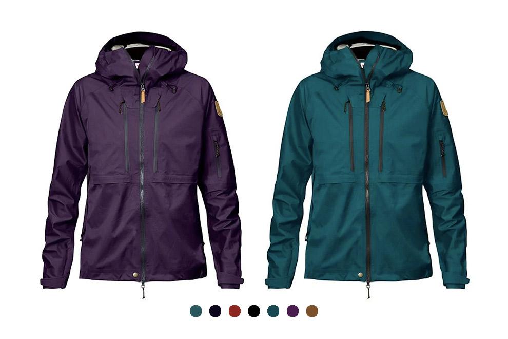 Verschillende kleuren Keb Eco Shell jacket van Fjällräven