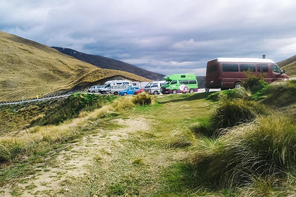 Gratis kamperen in Nieuw-Zeeland is in trek