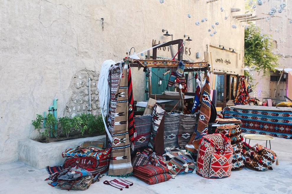 Typische arabische tapijten te koop in Dubai