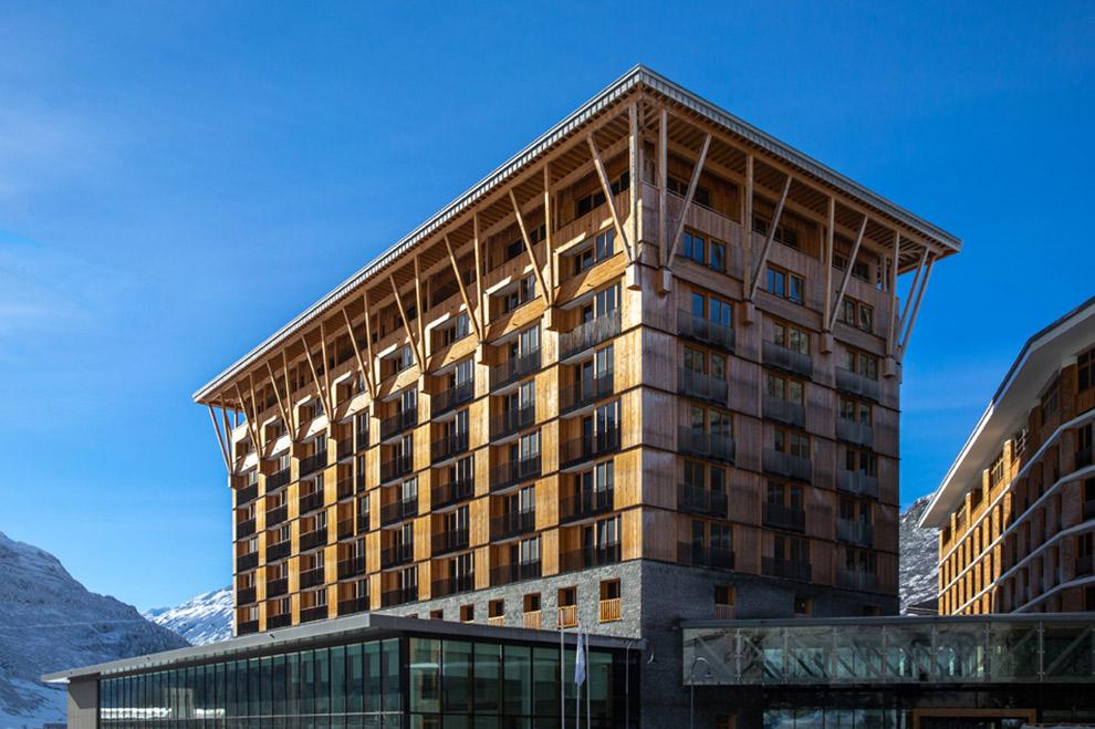 Het duurzame en ecologisch verantwoorde Radisson Blu Hotel
