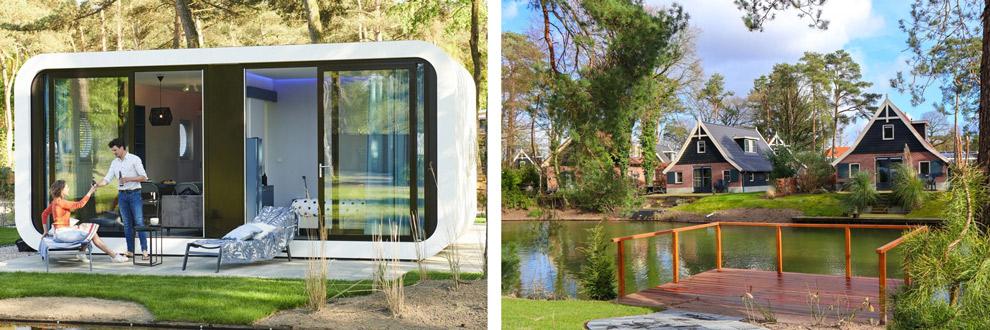 Accommodatie in droompark de Zanding