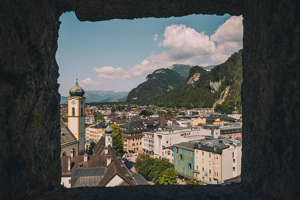 Doorkijkje op vestigingstas Kufstein in het Oostenrijkse Tirol