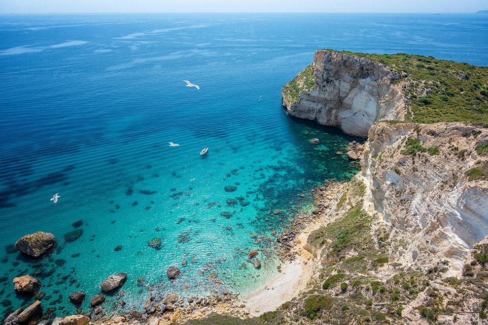 Relax op het Poetto-strand in Cagliari