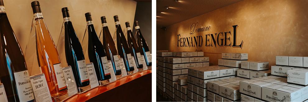 Verzameling van wijnhuis Fernand Engel in Rorschwihr