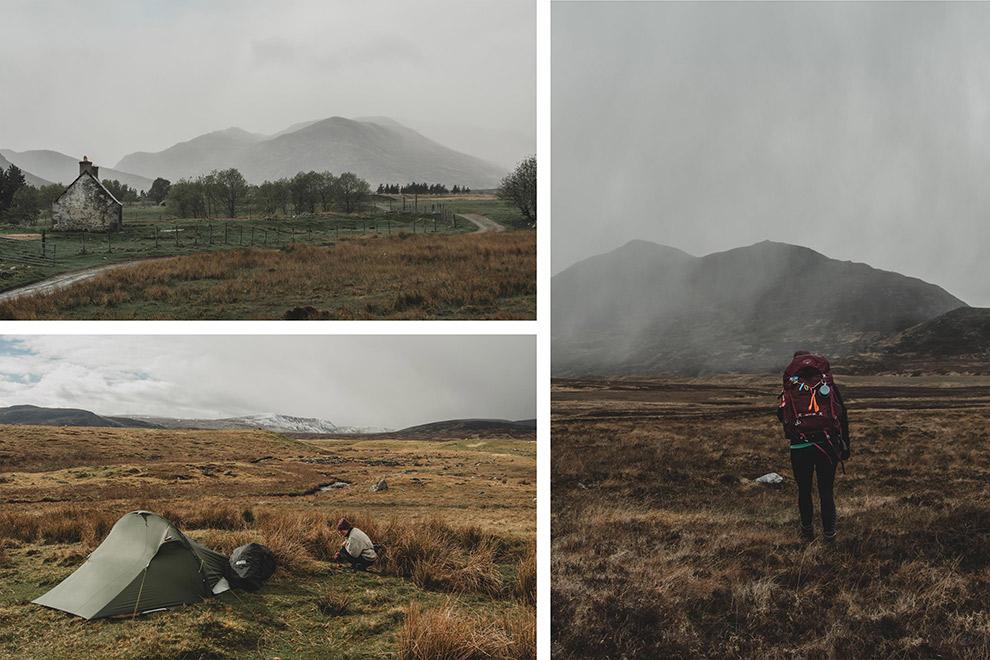 Avontuurlijk overnachten midden in de natuur van Schotland