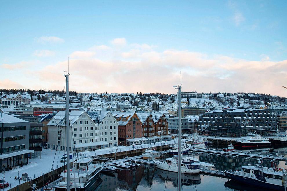 Sprookjesachtig Tromsø onder een dik pak sneeuw