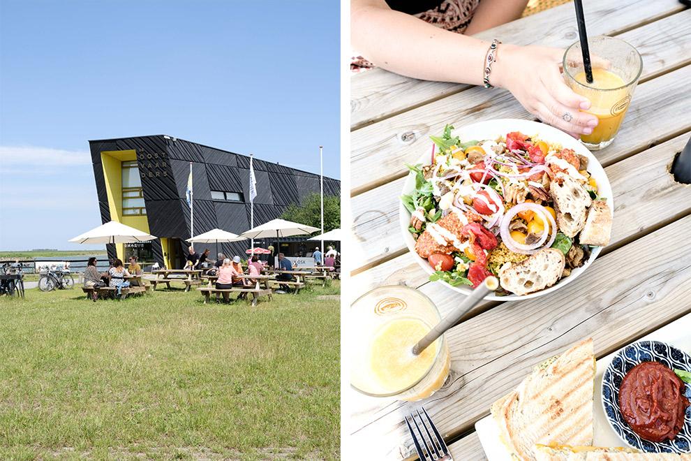 Kleurrijke en zomerse lunch bij Paviljoen de Oostvaarders