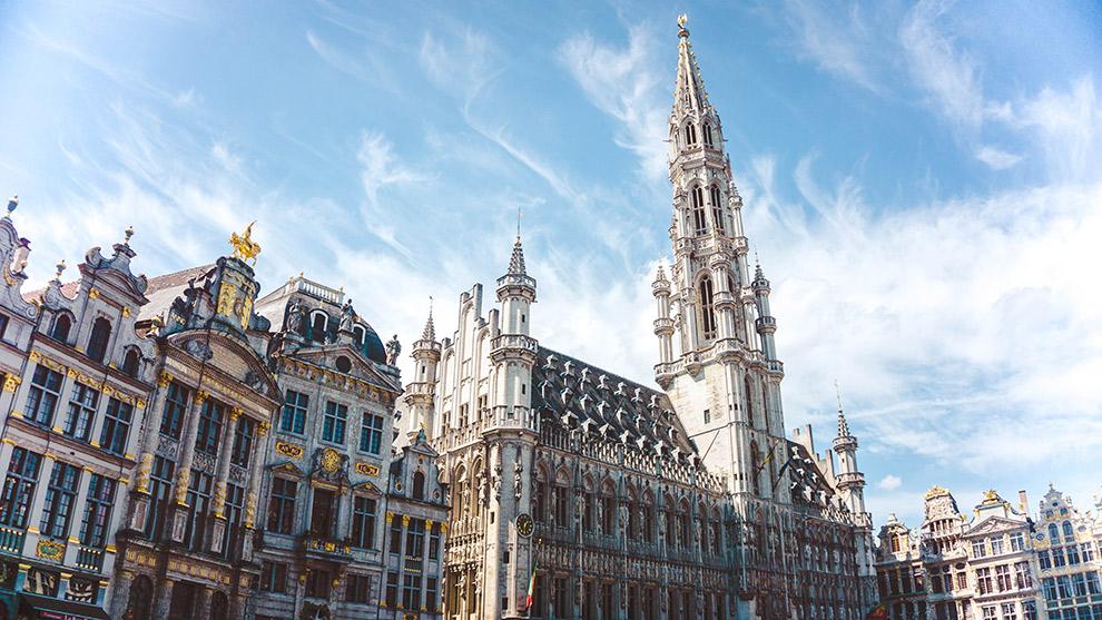 Statige herenhuizen in Brussel