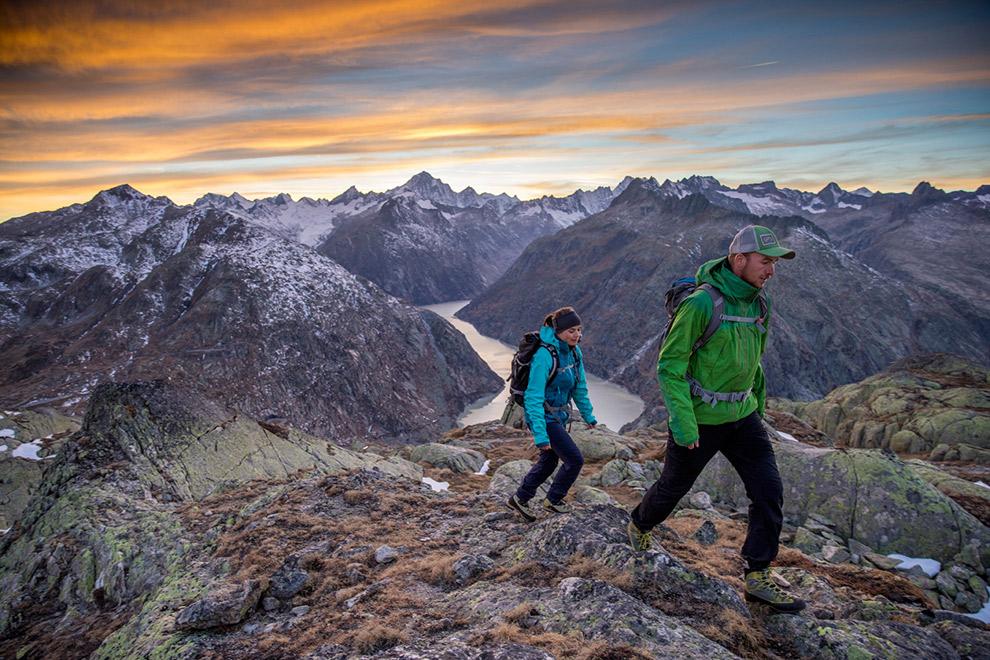 Avontuurlijke wandeling over bergtoppen Grimselwelt