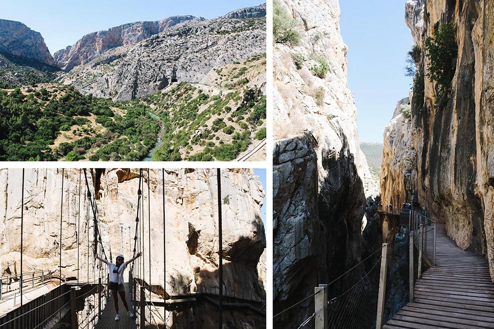Avontuurlijke dag tussen de rotsen bij de Caminito del Rey in Spanje