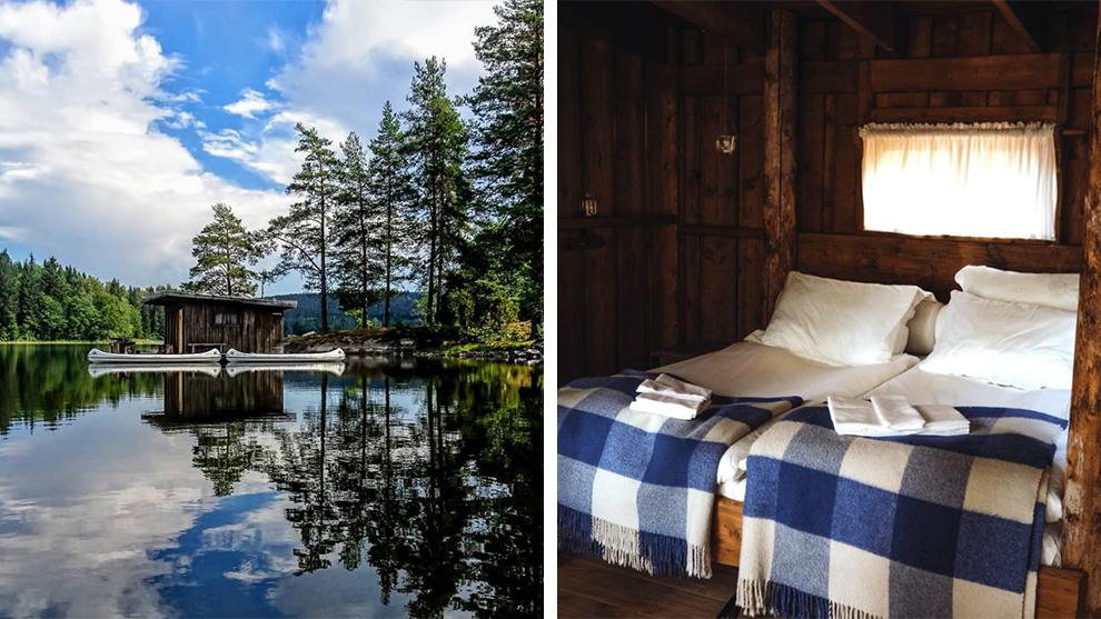 Overnachten midden in de Zweedse bossen