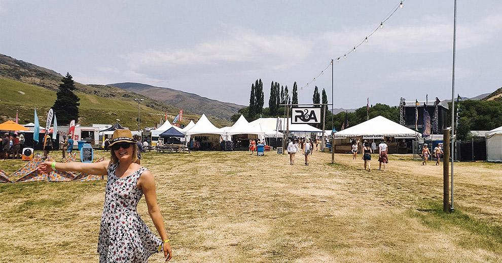 Blogger Charlotte viert nieuwjaar op festival in NIeuw-Zeeland
