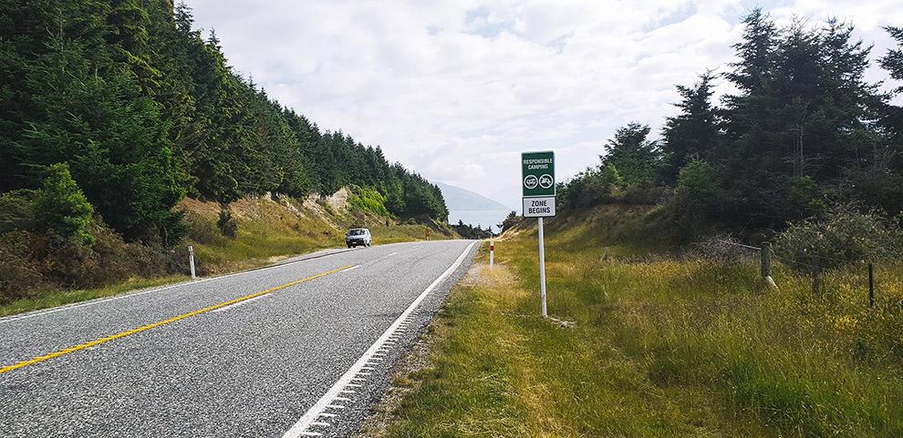 Roadtrip Nieuw-Zeeland met camperbus