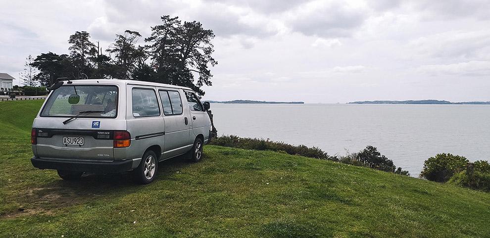 Goedkoop kamperen langs het water in Nieuw-Zeeland