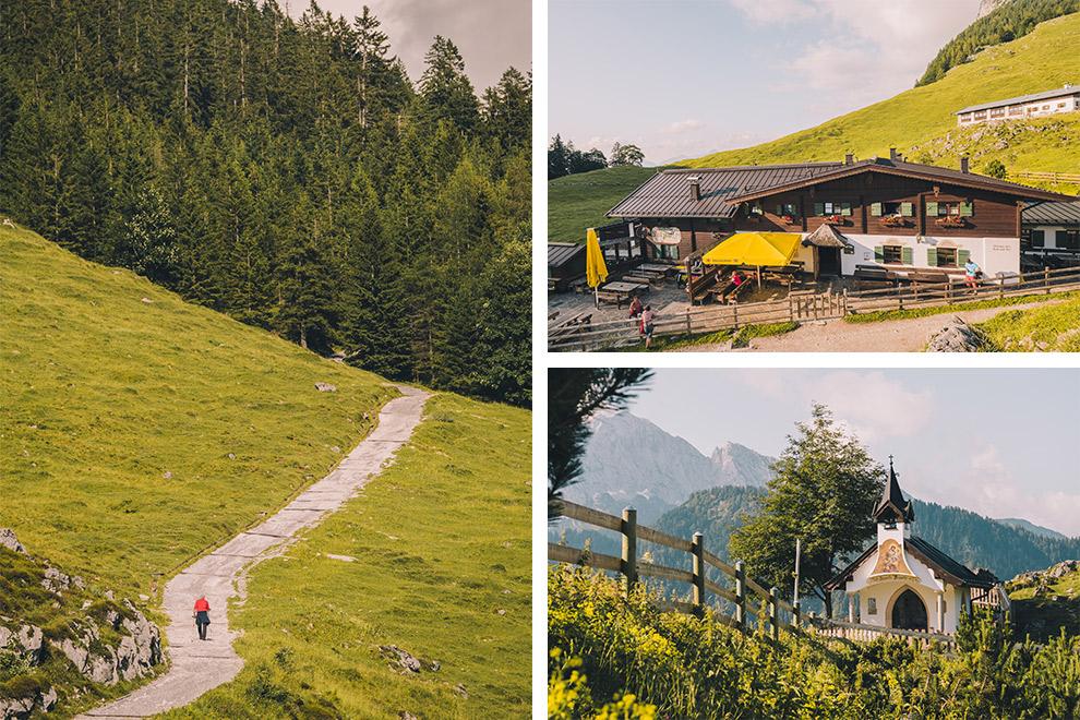 Overnacht in een berghut omringd door groen Oostenrijks landschap in Tirol