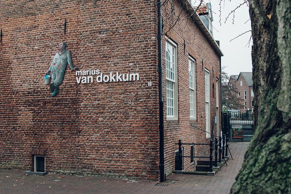 Het Marius van Dokkum Museum in Harderwijk