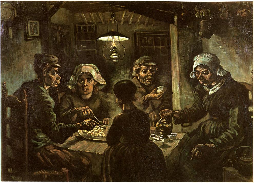 Schilderij Aardappeleters Van Gogh