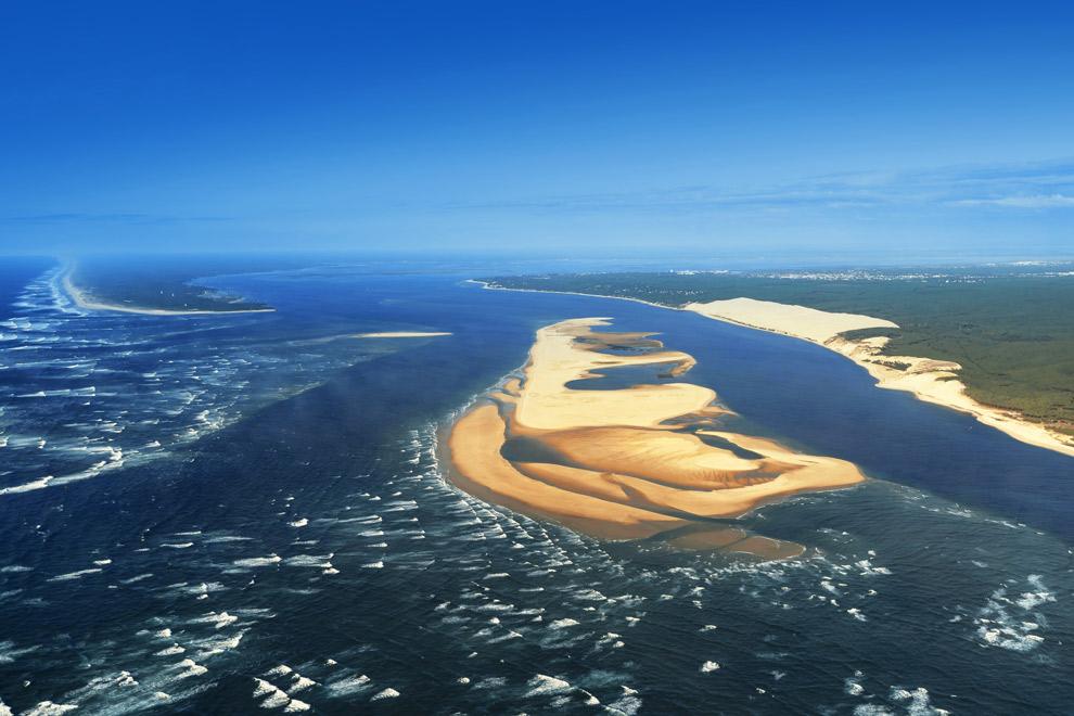 Dronefoto van Banc d'arguin